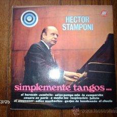 Discos de vinilo: HECTOR STAMPONI - SIMPLEMENTE TANGOS.... Lote 36226858