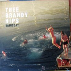 Discos de vinilo: THE BRANDY HIPS - RAINCOAT LP - INDIE ROCK / POWER POP / VINILO TRANSPARENTE. Lote 41461265