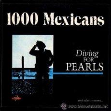 Discos de vinilo: 'DYVING FOR PEARLS' DE 1000 MEXICANS. SINGLE 45 R.P.M.. Lote 36209795