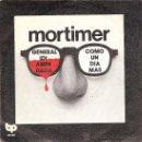 Discos de vinilo: MORTIMER - GENERAL IDI AMIN DADA / COMO UN DIA MAS (45 RPM) EDICION 1978 - VG++/VG++. Lote 36215743