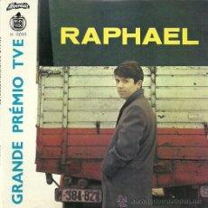 Discos de vinilo: RAPHAEL EP SELLO ALVORADA-HISPAVOX EDITADO EN PORTUGAL EUROVISION ´66. Lote 36216782