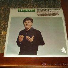 Discos de vinilo: RAPHAEL LP BANDA SONORA ORIGINAL DE LA PELICULA DIGAN LO QUE DIGAN. Lote 36228762