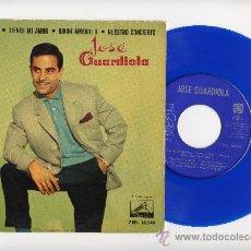 Discos de vinilo: JOSE GUARDIOLA. EP 45 RPM. VERDE CAMPIÑA+3.VINILO DE COLOR AZUL. Lote 36229611