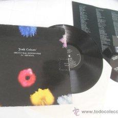 Discos de vinilo: ORCHESTRAL MANOEUVRES IN THE DARK LP + SINGLE DISCO VINILO JUNK CULTURE MADE IN GT BRITAIN 1984. Lote 36233828