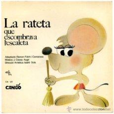 Discos de vinilo: R. FOLCH / J. CASAS AUGE - LA RATETA QUE ESCOMBRAVA L'ESCALETA - SG SPAIN 1967 - SAYTON/CANIGÓ CA-20. Lote 36236234
