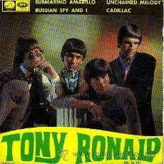 Discos de vinilo: TONY RONALD 7' EP SUBMARINO AMARILLO +3 (SOLO PORTADA). Lote 36237632