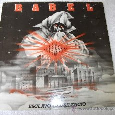 Discos de vinilo: BABEL / ESCLAVO DEL SILENCIO / ELIPSE 1984. Lote 36245198
