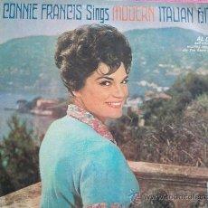 Discos de vinilo: CONNIE FRANCIS,SINGS ITALIAN HITS EDICION CHILENA. Lote 36249302