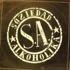 Discos de vinilo: SOZIEDAD ALKOHOLIKA-MISMO TITULO 1991 LP SPAIN. Lote 36254642