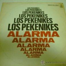 Discos de vinilo: LOS PEKENIKES LP ALARMA HISPAVOX. Lote 36256774