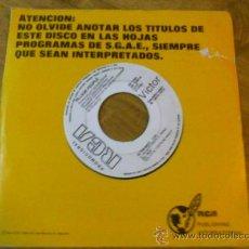 Discos de vinilo: VILLAGE PEOPLE. IN THE NAVY.MANHATTAN WOMAN.. Lote 36263963