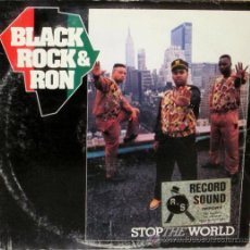 Disques de vinyle: BLACK, ROCK & RON - STOP THE WORLD U S A - R C A - 1989. Lote 36295850