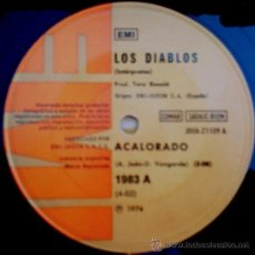 Discos de vinilo: DOS SENCILLOS ARGENTINOS DE LOS DIABLOS. Lote 36038821