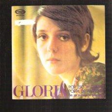 Discos de vinilo: GLORIA POR ESO TE QUIERO. Lote 36265962
