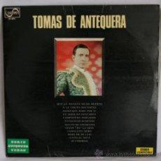Discos de vinilo: LP DE VINILO - TOMAS DE ANTEQUERA - ZAFIRO - 1973. Lote 156558810