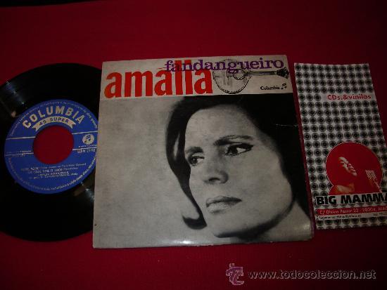 AMALIA RODRIGUES 'FANDANGUEIRO' EP (Música - Discos de Vinilo - EPs - Étnicas y Músicas del Mundo)