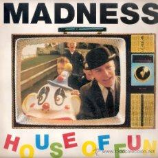 Discos de vinilo: MADNESS - HOUSE OF FUN + 3 (MAXI) EDICION INGLESA - EX/EX. Lote 36274614