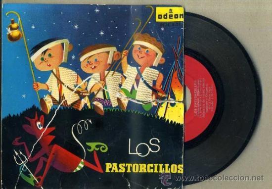 LOS PASTORCILLOS (ODEON - 1958) (Música - Discos de Vinilo - EPs - Música Infantil)