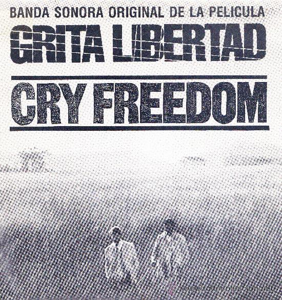 BSO GRITA LIBERTAD SINGLE 1988 PROMOCIONAL SPAIN (Música - Discos - Singles Vinilo - Bandas Sonoras y Actores)