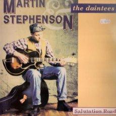 Discos de vinilo: MARTIN STEPHENSON AND THE DAINTEES - SALUTATION ROAD (LP) EDICION ESPAÑOLA - EX/EX. Lote 36278014