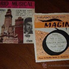 Discos de vinilo: LOTE DOS EP- ESTEBAN DE LOS REYES + EDICIONES MAGIN ( TIRSO REY/ MAGIN). Lote 36278806