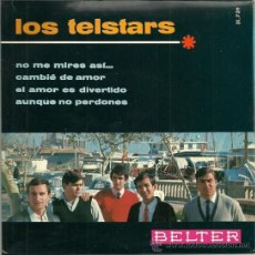 Discos de vinilo: LOS TELSTARS EP SELLO BELTER AÑO 1966. Lote 36280671