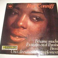 Discos de vinilo: RAY CONNIFF FABULOSO (1966 CBS ESPAÑA) BESAME MUCHO EXTRAÑO EN EL PARAISO BRASIL UNA DE ESAS COSAS . Lote 36308137