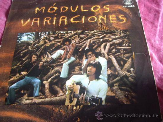 MODULOS- VARIACIONES-EDICION ORIGINAL HISPAVOX 1971 (Música - Discos - LP Vinilo - Grupos Españoles de los 70 y 80)