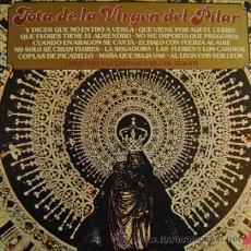 Discos de vinilo: JOTA DE LA VIRGEN DEL PILAR - LP DE VINILO CONJUNTO Y CUERPO DE BAILE DE ARAGON JOTAS ARAGONESAS. Lote 147304286