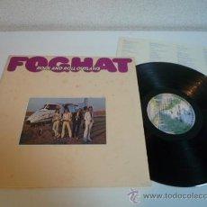 Discos de vinilo: LP ROCK 1974 - FOGHAT - ROCK AND ROLL OUTLAWS - VINILO JAPONÉS. Lote 36287380
