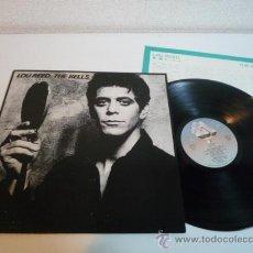 Discos de vinilo: LP ROCK 1979 - LOU REED - THE BELLS - VINILO JAPONÉS. Lote 36287425
