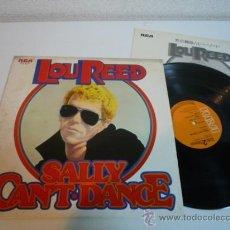 Discos de vinilo: LP ROCK 1974 - LOU REED - SALLY CAN´T DANCE - VINILO JAPONÉS. Lote 36287435