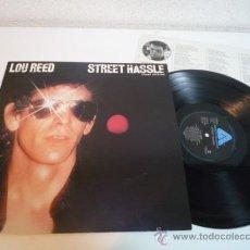 Discos de vinilo: LP ROCK 1978 - LOU REED - STREET HASSLE - VINILO JAPONÉS. Lote 36287453