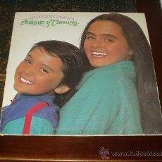 Discos de vinilo: ANTONIO Y CARMEN LP ENTRE COCODRILOS. Lote 36293116