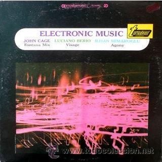 JOHN CAGE, LUCIANO BERIO, ILHAN MIMAROGLU – ELECTRONIC MUSIC (Música - Discos - LP Vinilo - Electrónica, Avantgarde y Experimental)
