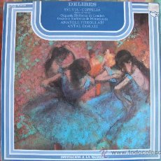 Disques de vinyle: LP - LEO DELIBES - COPPELIA / SYLVIA (SPAIN, DISCOS PHILIPS 1976). Lote 36305118