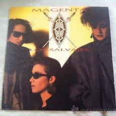"""Disques de vinyle: 7"""" SINGLE - MAGENTA - LOS SALVAJES. Lote 224997545"""