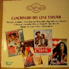 Discos de vinilo: CARMEN FLORES / CARMEN SEVILLA / LOLA FLORES Y MAS - CANCIONERO DEL CINE ESPAÑOL -OLYMPO L-310 -1975. Lote 36313580