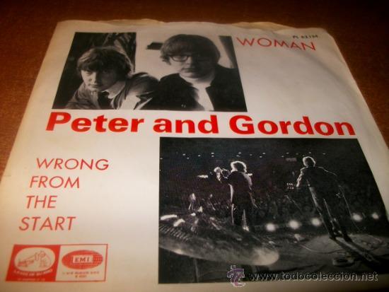 SINGLE .PETER AND GORDON (Música - Discos - Singles Vinilo - Otros estilos)