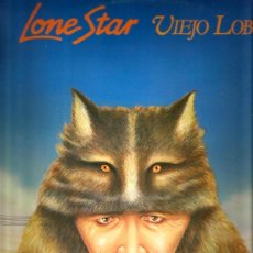 Discos de vinilo: LP LONE STAR - VIEJO LOBO . Lote 36314641