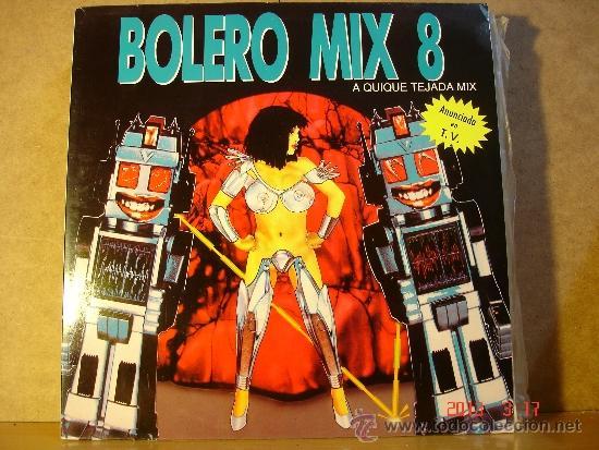 QUIQUE TEJADA - BOLERO MIX 8 - BLANCO Y NEGRO MXLP-290 - 1991 - DOBLE LP (Música - Discos - LP Vinilo - Disco y Dance)