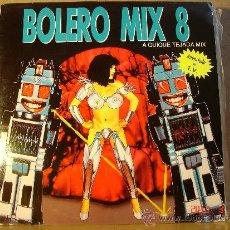 Discos de vinilo: QUIQUE TEJADA - BOLERO MIX 8 - BLANCO Y NEGRO MXLP-290 - 1991 - DOBLE LP. Lote 36319002