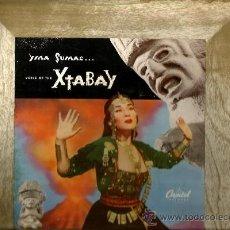 Discos de vinilo: LP YMA SUMAC & LES BAXTER : VOICE OF THE YTABAY. Lote 36322696
