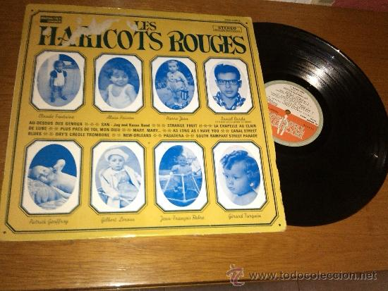 THE HARICOTS ROUGES - LP (Música - Discos - LP Vinilo - Jazz, Jazz-Rock, Blues y R&B)