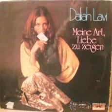 Discos de vinilo: DALIAH LAVI MEINE ART LIEBE ZU ZEIGEN. Lote 36433753
