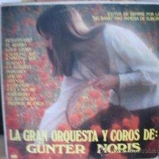 Discos de vinilo: LA GRAN ORQUESTA Y COROS DE GÜNTER NORIS. Lote 36433813
