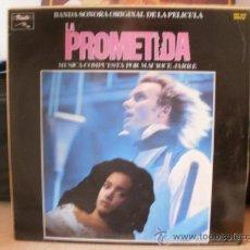 Discos de vinilo: LA PROMETIDA BSO PELICULA CON STING ACTOR MUSICA POR MAURICE JARRE. Lote 36433819