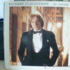 Discos de vinilo: RICHARD CLAYDERMAN EN CONCIERTO COUP DE COEUR 2 DISCOS. Lote 36448227