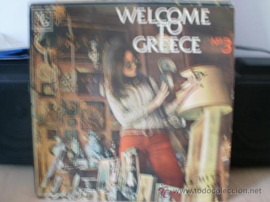 WELLCOME TO GREECE N3 AÑOS 70 (Música - Discos - LP Vinilo - Clásica, Ópera, Zarzuela y Marchas)