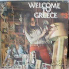 Discos de vinilo: WELLCOME TO GREECE N3 AÑOS 70. Lote 36448311
